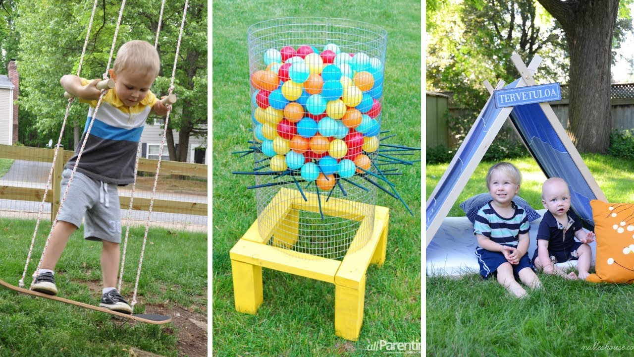 10 Clever Tricks Of How To Build Fun Backyard Ideas For Kids Youtube