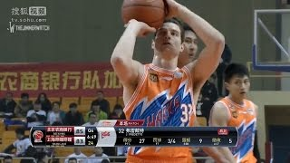 Jimmer Fredette 46 Points, 14 Rebounds vs Beikong Fly Dragons | Full Highlights | December 16, 2016