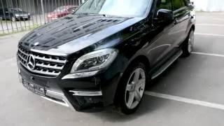 Купить Mercedes-Benz M-класса 2013 года (W166) AMG черный бензин 350 306 л.с. - Москва / продан(, 2016-09-07T16:37:02.000Z)
