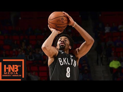 Brooklyn Nets vs Detroit Pistons Full Game Highlights / Jan 21 / 2017-18 NBA Season