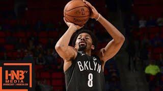 Brooklyn Nets vs Detroit Pistons Full Game Highlights / Jan 21 / 2017-18 NBA Season