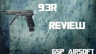 Beretta 93R Softair Review (GsP Airsoft) GERMAN HD