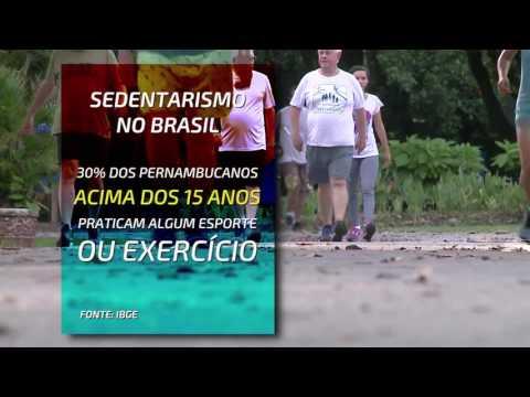 Sedentarismo em Pernambuco