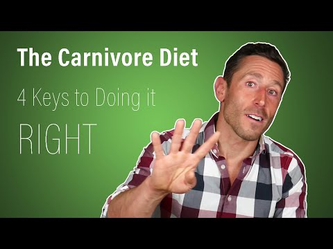 The Carnivore Diet: 4 Keys to Doing it Right (2019)