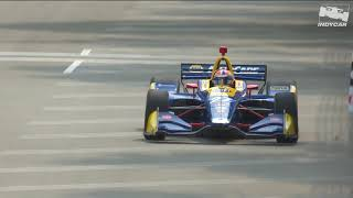 Alexander Rossi's pole lap for Race 1 at the 2019 Detroit Grand Prix