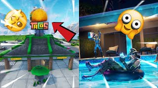 FORTNITE / DEFI EMPREINTE METEORITIC - NEW SKIN SECRET THE SCIENTIST