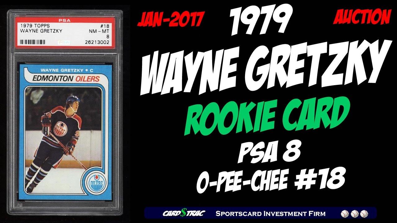 1979 Wayne Gretzky O Pee Chee Rookie Card Graded Psa 8 Wayne Gretzky Opc Rookie Card