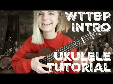 Welcome To The Black Parade Intro Easy Ukulele Tutorial My