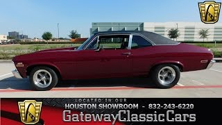 1971 Chevrolet Nova SS Stock #547 Gateway Classic Cars Houston Showroom