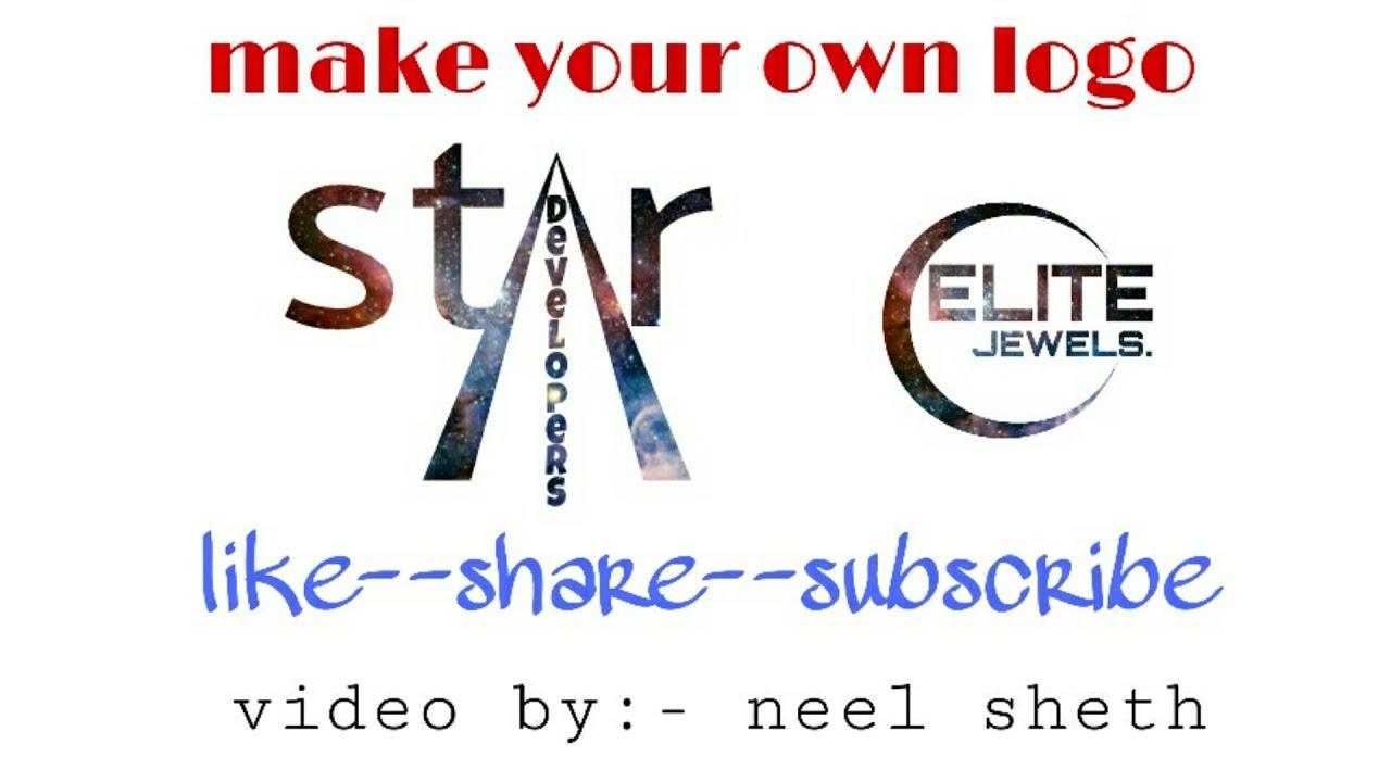 Make Your Logosymbol Easily In Picsart Youtube
