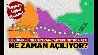 İSTANBUL / SANCAKTEPE / SARIGAZİ / YENİDOĞAN / ÇEKMEKÖY / TAŞDELEN / SULTANBEYLİ / METRO ANİMASYONU