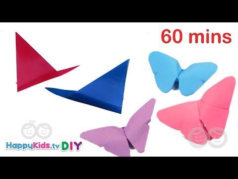 Origami DIY Creations | Non Stop | Kid's Crafts and Activities | Happykids DIY