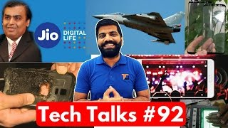 Tech Talks #92 - Jio Free Till June 2017, Redmi Note 4, DNA Analysis, iPhone 8, LG G6, S8 AI