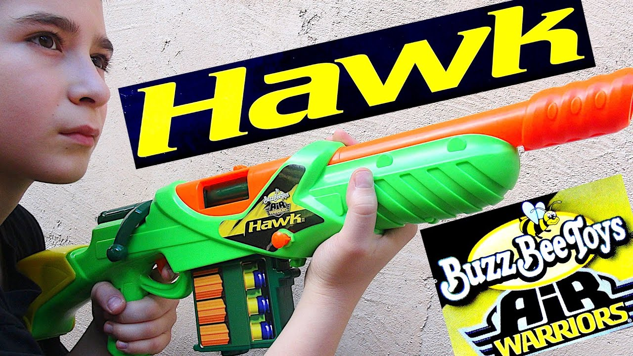 Buzz Bee Air Warriors Hawk Blaster With Robert Andre Youtube