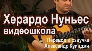 Испанская гитара фламенко. Херардо Нуньес. ВидеоШкола. (Не ДиДюЛя).