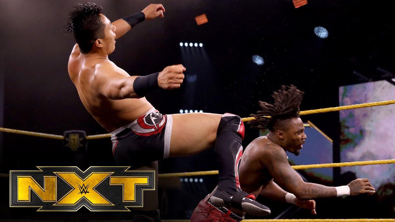 """Isaiah """"Swerve"""" Scott vs. Jake Atlas: WWE NXT, July 29, 2020"""