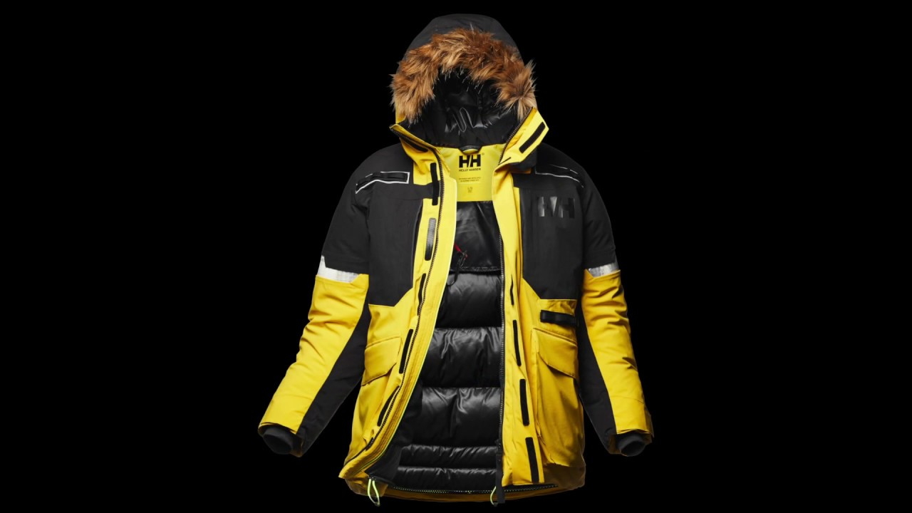13aac295 Expedition Parka by Helly Hansen featuring Light Flex - Winner of the ISPO  Award 2017/2018