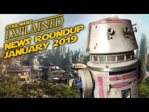 January 2019 Star Wars News Roundup