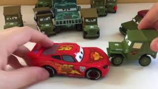 Disney Pixar Cars 2 Sarge and Corporal Josh Coolant diecast review