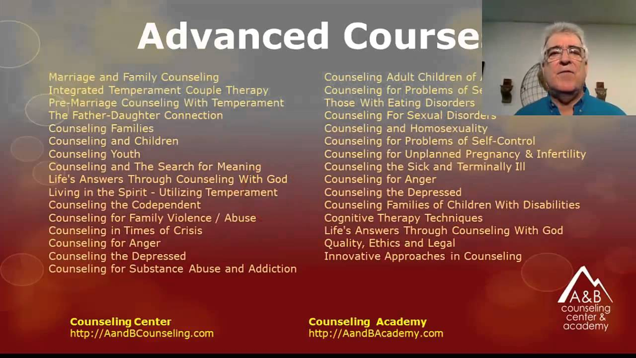 Ba Masters Degree In Christian Counseling Youtube