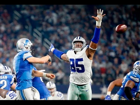 David Irving vs Lions (NFL MNF Week 16 - 2016) - 3 Tkls, 1.5 Sacks, PDEF + FF! | NFL Highlights HD