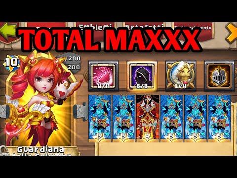 DOVE KEEPER Maxx SKILL 11/11 FEINT 8/8 New Talent! Full DODGE! Devastante! | Castle Clash ITA