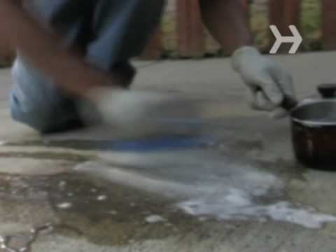 how to get grease off a concrete driveway youtube