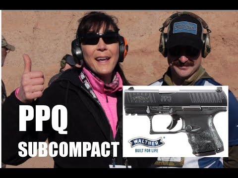 WALTHER PPQ Subcompact from SHOT 2018
