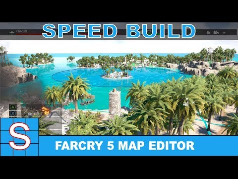 FARCRY 5 Map Editor Speed Build | Island Warfare (Part 1: Build)