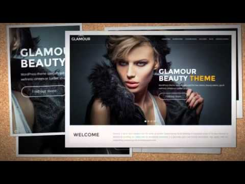 Glamour Beauty WP Theme + Download