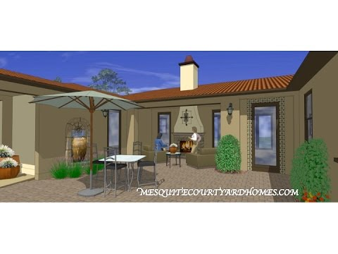Mesquite Courtyard Homes  - Plan 3 - Beautiful Finished Home