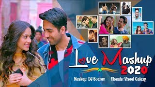 Love Mashup 2020 | DJ Sourav | Visual Galaxy