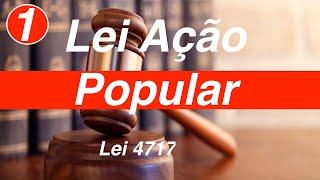 Lei 4717   Lei de Ação Popular   Art  1 a 5