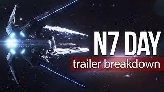 N7 Day Trailer Breakdown + New Concept Art | Mass Effect: Andromeda