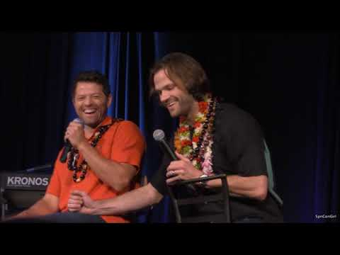 HonCon Misha Collins and Jared Padalecki FULL Panel 2017