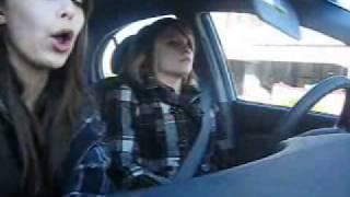 Danii and Amelia Chaos go on a car adventure Thumbnail
