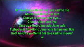 chand mera dil medley hum kisise kam nahi full karaoke