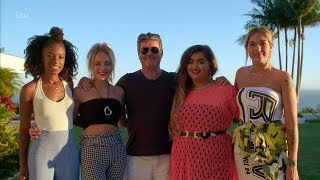 The X Factor UK 2018 Simon and His Girls Finalists Judges' Houses Full Clip S15E12