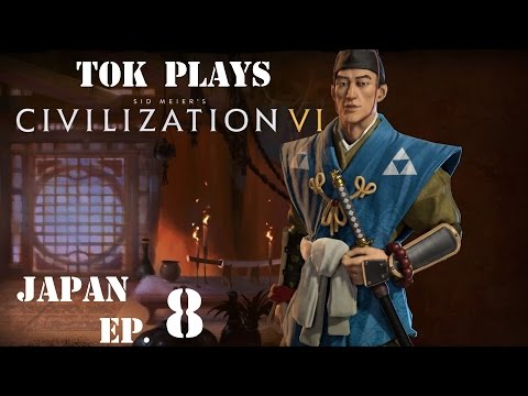 Tok plays Civilization 6 - Japan ep. 8 - Spy Is Sapping Our Capital