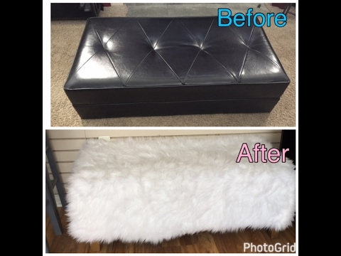Diy How To Reupholster An Ottoman