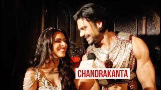 Madhurima Tuli & Vishal Aditya Singh on Chandrankanta | EXCLUSIVE INTERVIEW