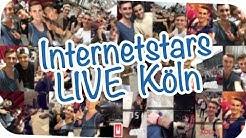 Bei den INTERNET STARS LIVE Köln auf der Bühne | FMA