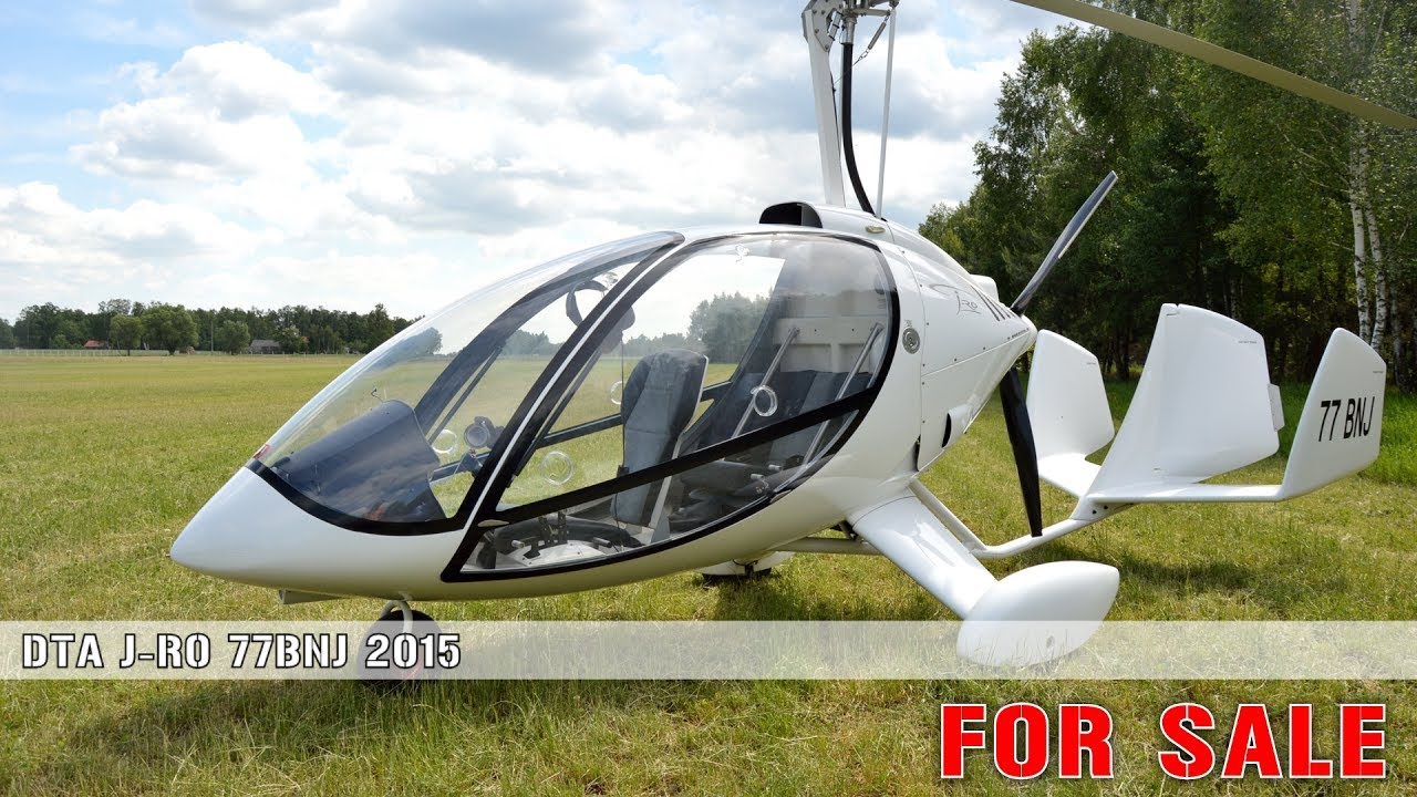 AutoGyro DTA J-RO 77BNJ FOR SALE - YouTube