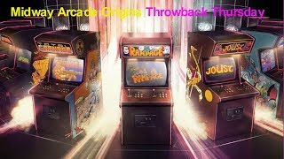 Midway Arcade Origins Throwback Thursday Xbox One Gameplay