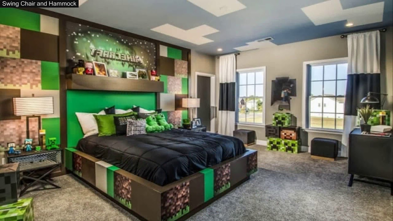 minecraft bedroom ideas in real life - youtube