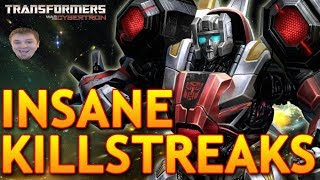 INSANE KILLSTREAKS!!!  | Transformers War for Cybertron Multiplayer Gameplay
