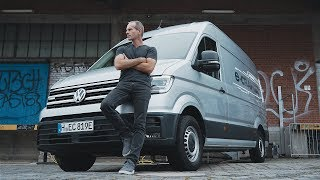 Volkswagen E-Crafter - Van benne kraft?