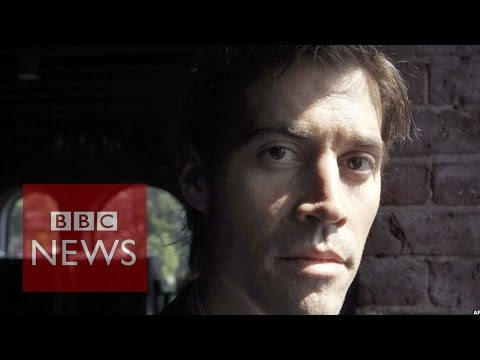 James Foley was 'telling the story of people suffering' says Paul Conroy - BBC News