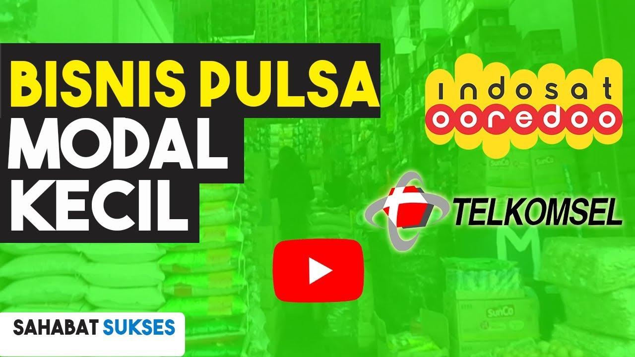 Bisnis Modal Kecil: Jual Pulsa All Operator - YouTube