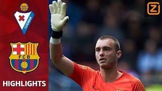 FOUT CILLESSEN zorgt voor WERELDDOELPUNT | Eibar vs Barcelona | La Liga 2018/19 | Samenvatting